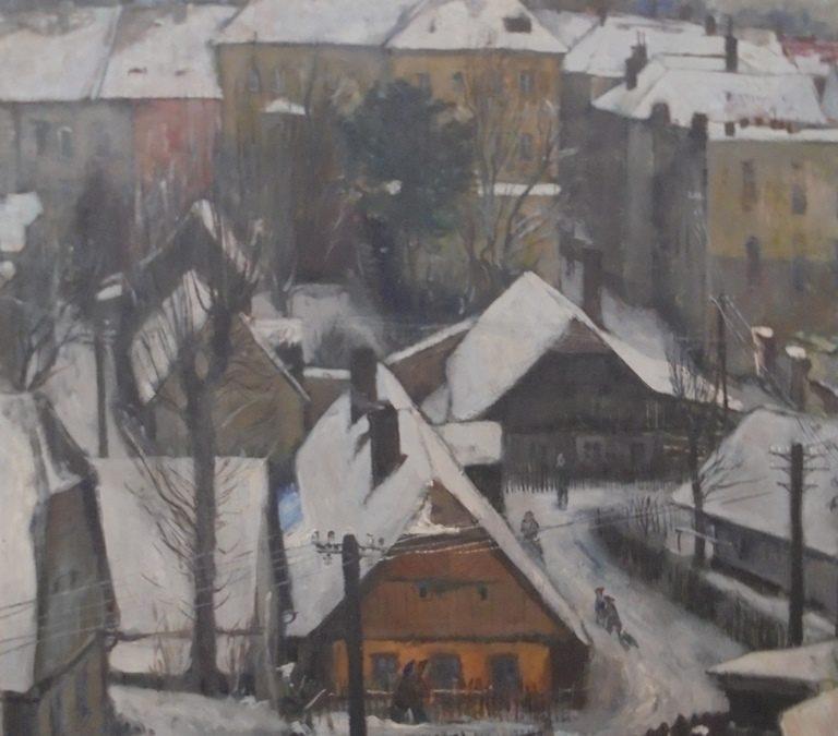 Z muzejních vitrín a depozitářů – obraz Oldřicha Oplta