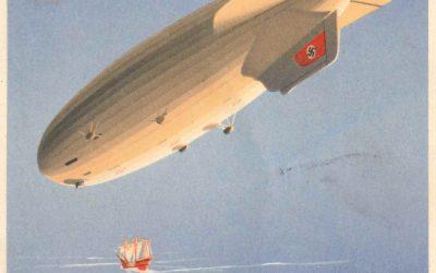 85 let od legendárního letu Petra Šlechty vzducholodí Hindenburg
